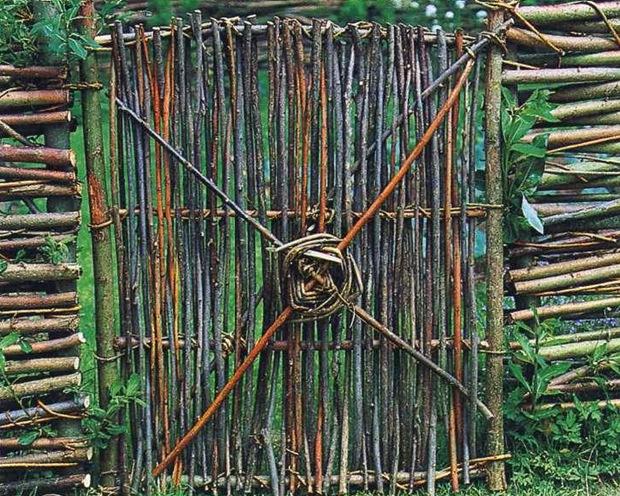 Забор изивы